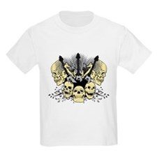 3 Guitars Skulls T-Shirt