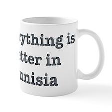 Better in Tunisia Small Mug