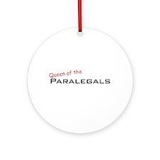 Paralegals / Queen Ornament (Round)