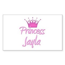Princess Jayla Rectangle Decal