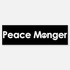 Peace Monger Bumper Bumper Bumper Sticker