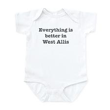 Better in West Allis Infant Bodysuit