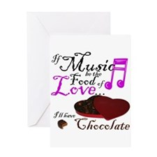 Chocolate Over Love Greeting Card