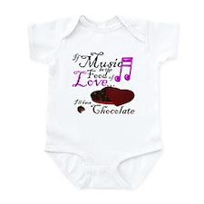 Chocolate Over Love Infant Bodysuit
