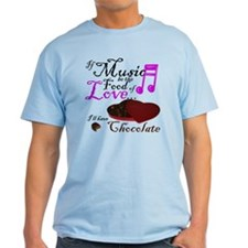 Chocolate Over Love T-Shirt