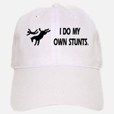 Horse I Do My Own Stunts Baseball Baseball Cap