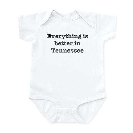 Better in Tennessee Infant Bodysuit