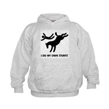 Horse I Do My Own Stunts Hoody
