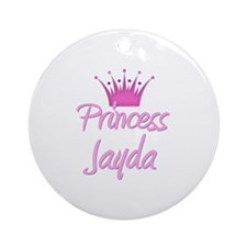Princess Jayda Ornament (Round)