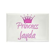 Princess Jayda Rectangle Magnet