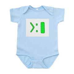 Computer Prompt Infant Creeper