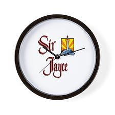 Sir Jayce Wall Clock