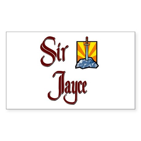 Sir Jayce Rectangle Sticker