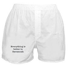 Better in Savannah Boxer Shorts