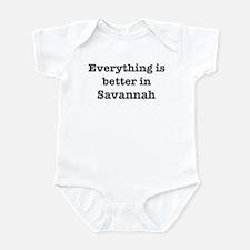 Better in Savannah Infant Bodysuit