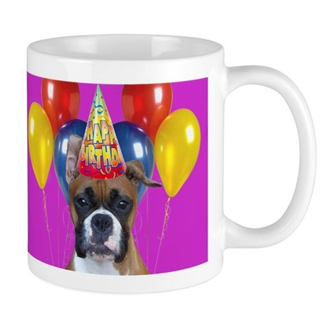 Happy Birthday boxer Mug