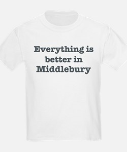 Better in Middlebury T-Shirt