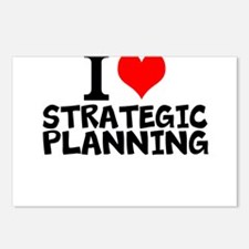 I Love Strategic Planning Postcards (Package of 8)