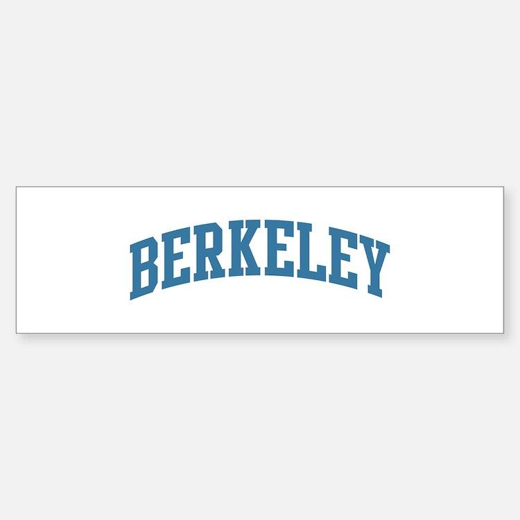 Berkeley (blue) Bumper Bumper Bumper Sticker