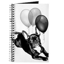 Happy Birthday French bulldog Journal