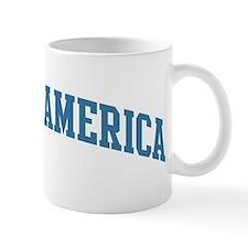 Central America (blue) Mug