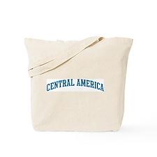 Central America (blue) Tote Bag