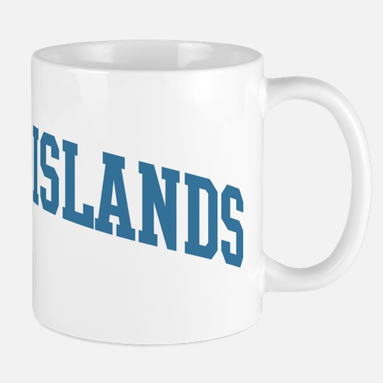 Cayman Islands (blue) Mug