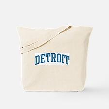 Detroit (blue) Tote Bag