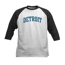 Detroit (blue) Tee