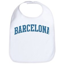 Barcelona (blue) Bib
