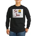 Sir Jason Long Sleeve Dark T-Shirt