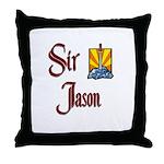 Sir Jason Throw Pillow
