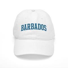 Barbados (blue) Baseball Cap
