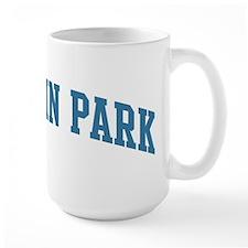 Baldwin Park (blue) Mug