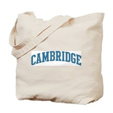 Cambridge (blue) Tote Bag