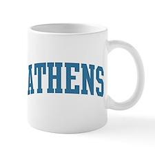 Athens (blue) Mug
