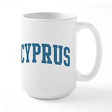 Cyprus (blue) Mug