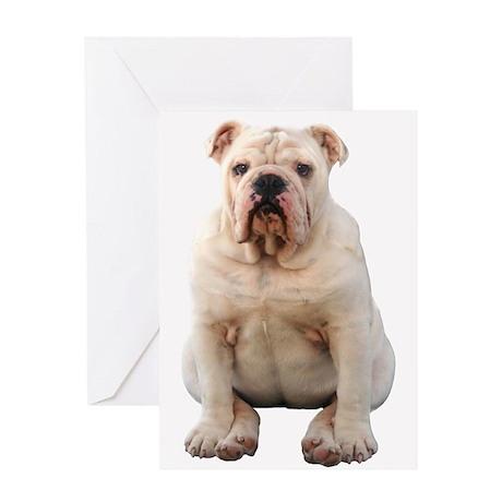 Bulldog 4 Greeting Card