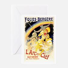 L'Arc en Ciel Greeting Card