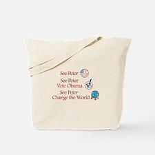 See Peter Vote Obama Tote Bag