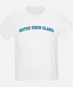 British Virgin Islands (blue) T-Shirt