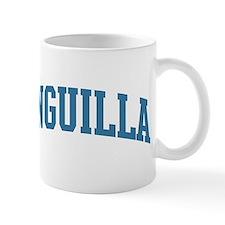 Anguilla (blue) Mug