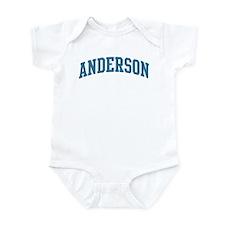 Anderson (blue) Infant Bodysuit