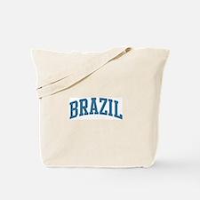 Brazil (blue) Tote Bag