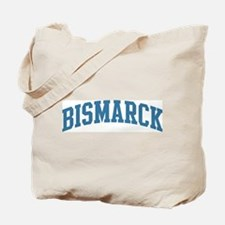 Bismarck (blue) Tote Bag