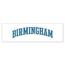 Birmingham (blue) Bumper Bumper Sticker