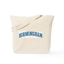 Birmingham (blue) Tote Bag