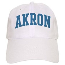 Akron (blue) Baseball Cap