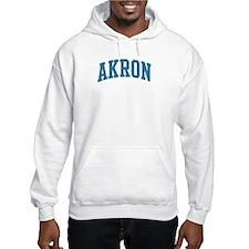 Akron (blue) Hoodie