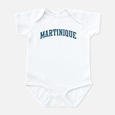 Martinique (blue) Infant Bodysuit